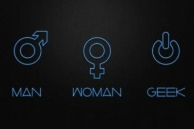 Man. Woman. Geek